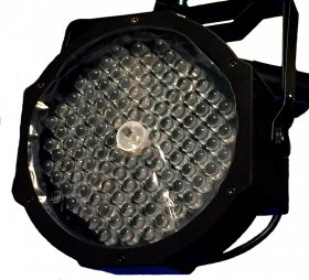 MAN LED PAR LIGHT 107*3w+ 1 ультрафиолет UV